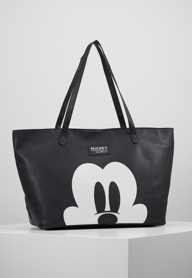 MICKEY MOUSE FOREVER FAMOUS SHOPPER - Baby changing bag - black