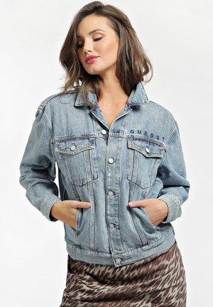 Kurtka jeansowa - himmelblau