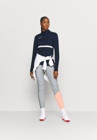 Nike Performance - DRY ACADEMY  - Sweatshirt - obsidian/white - 1