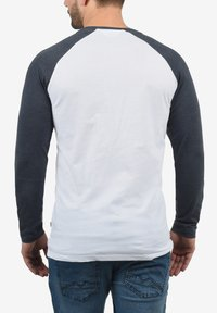 Solid - Long sleeved top - white bl m - 1