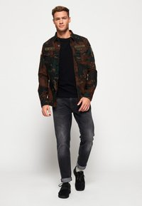 Superdry - MILITARY STORM - Shirt - brown - 1