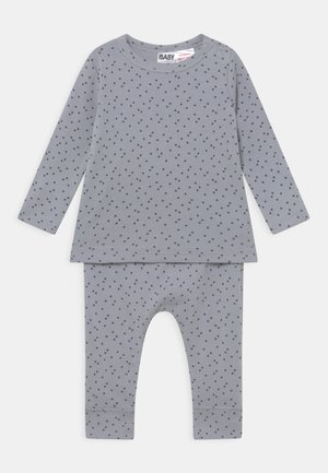 ANNA & ABBY SET UNISEX - Trousers - cumulus grey