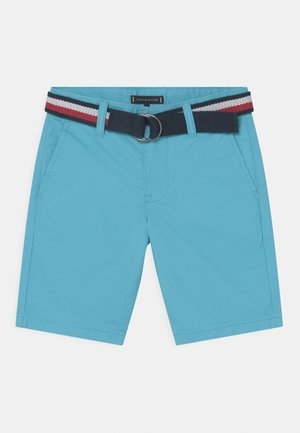 ESSENTIAL BELTED - Shorts - bluefish