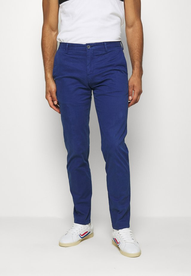 FLEX SLIM FIT PANT - Broek - blue