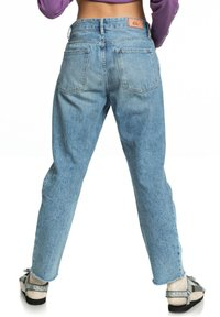 Quiksilver - MIT BAGGY  - Straight leg jeans - blue rip - 2
