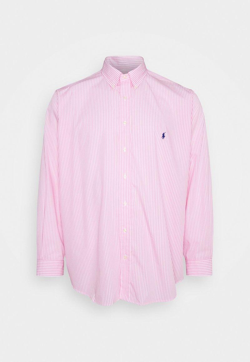 Polo Ralph Lauren Big & Tall - NATURAL - Shirt - pink/white