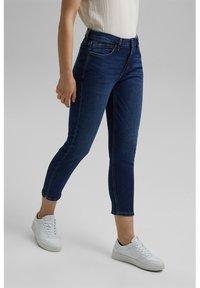 Esprit - MR CAP - Jeans Skinny Fit - blue dark washed - 4