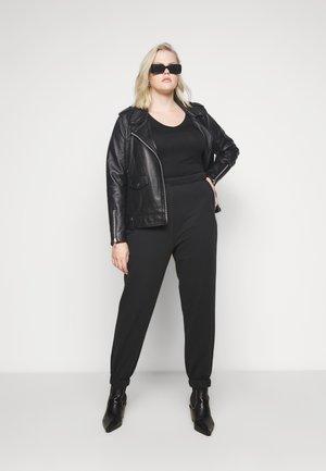 KARLY - Long sleeved top - black