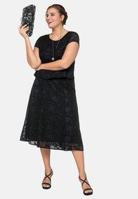 Sheego - A-line skirt - black - 1