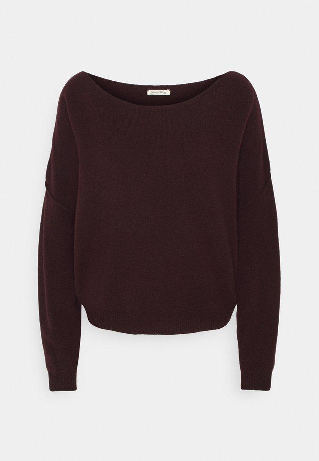 DAMSVILLE - Pullover - griotte