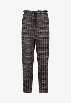 Tracksuit bottoms - grey check