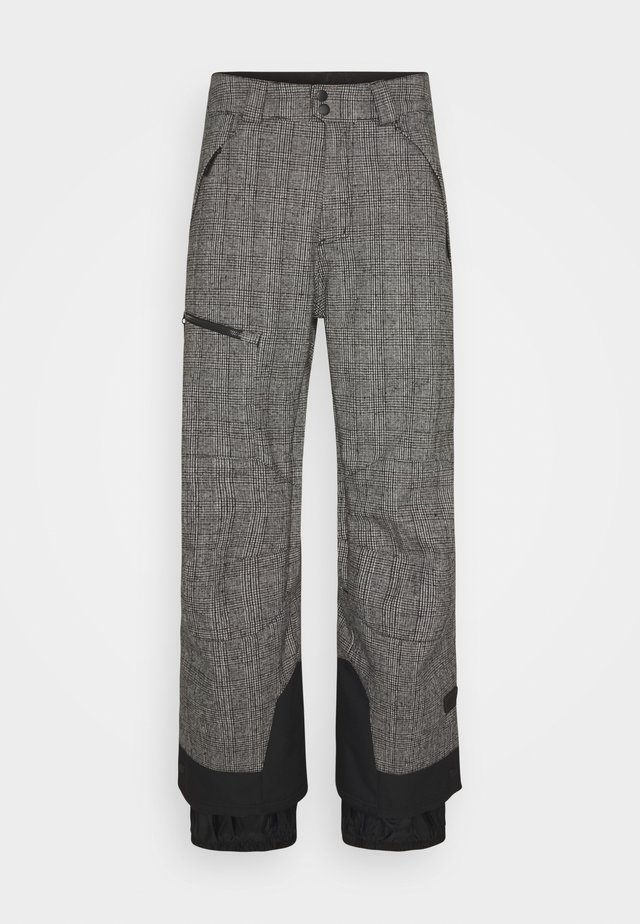 XPLR PANTS - Snow pants - white/black