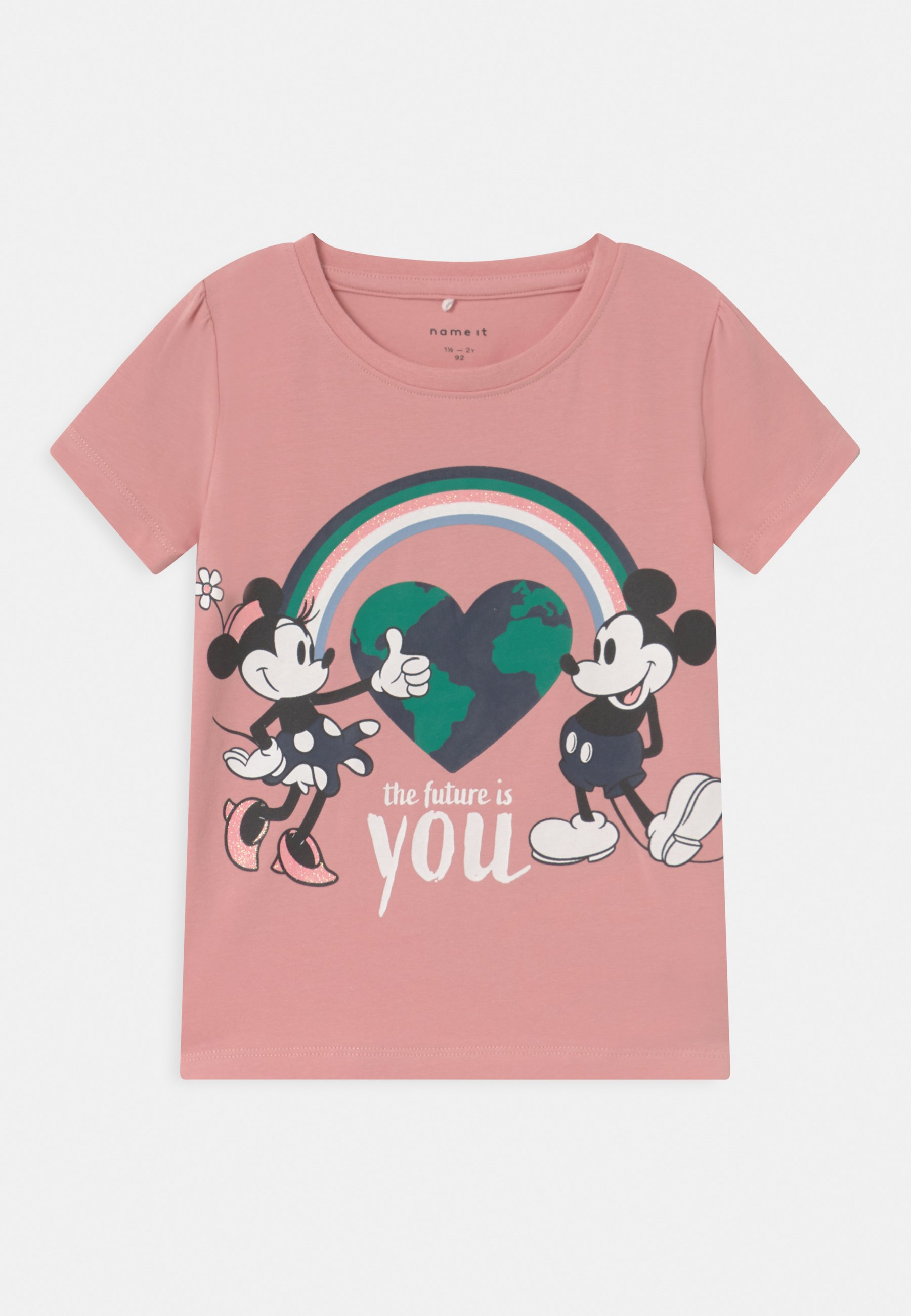 Kids DISNEY MINNIE MOUSE & MICKEY MOUSE NENNE - Print T-shirt