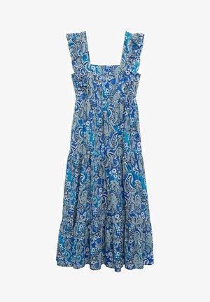 Korte jurk - blå