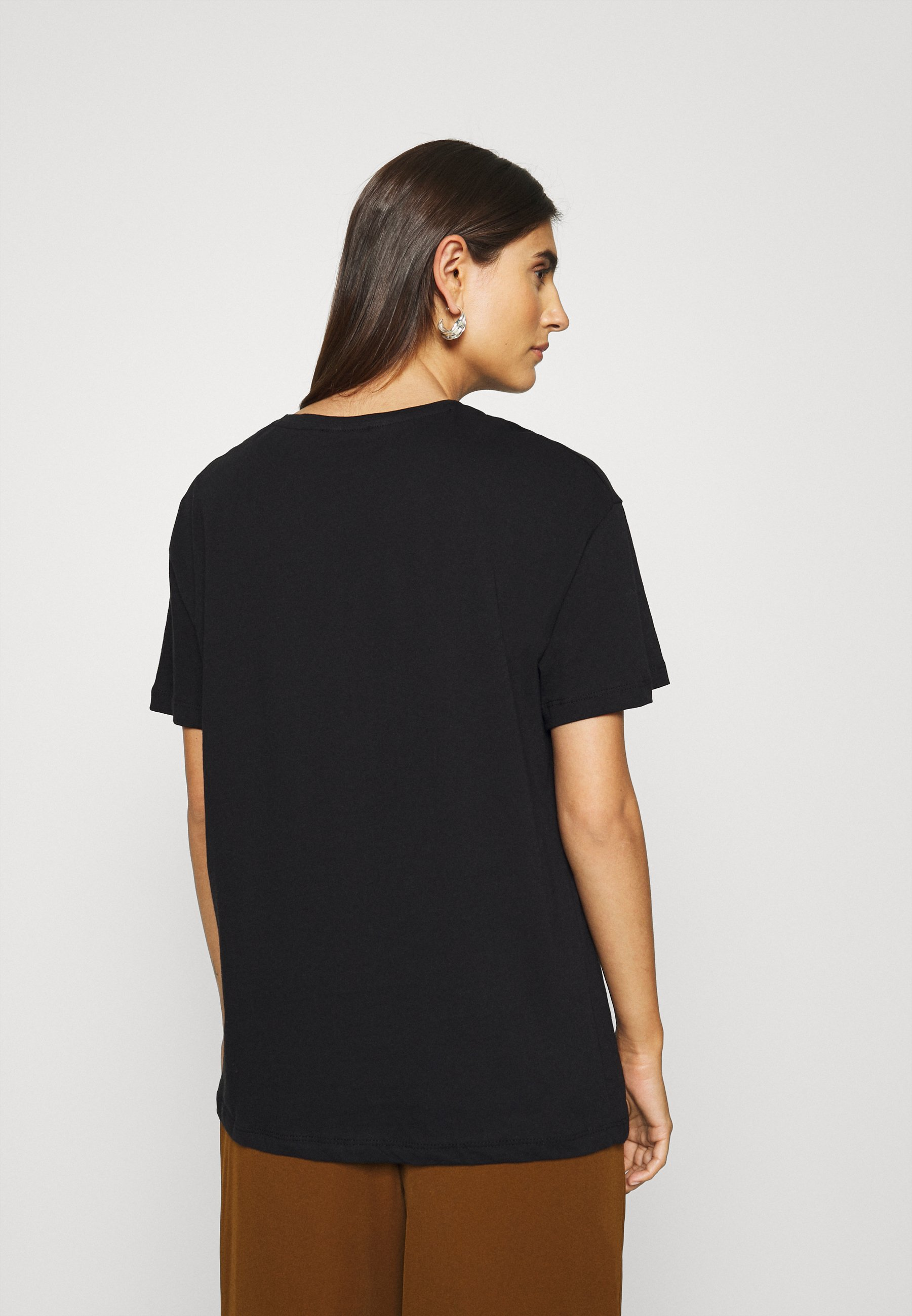 Trendyol T-shirts Med Print - Black/svart