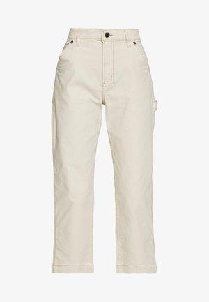 HIGH RISE CARPENTER - Bukse - french vanilla