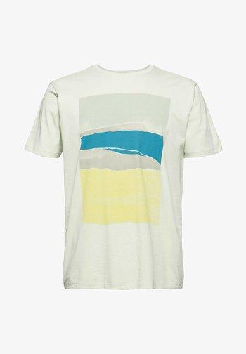 ARTWORK - T-shirt print - pastel green