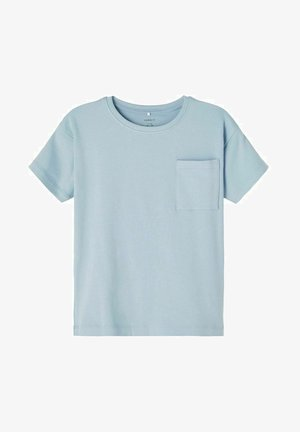T-shirt basic - dusty blue