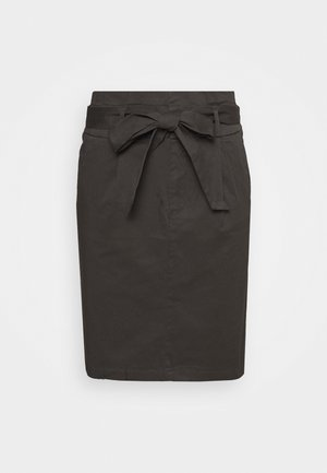 VMEVA PAPERBAG SKIRT TALL - Pencil skirt - phantom