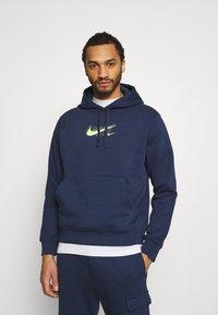 Nike Sportswear - HOODIE AIR  - Felpa con cappuccio - midnight navy - 0