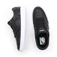 Vans - UA LOWLAND CC - Trainers - (leather) black/true whit - 3