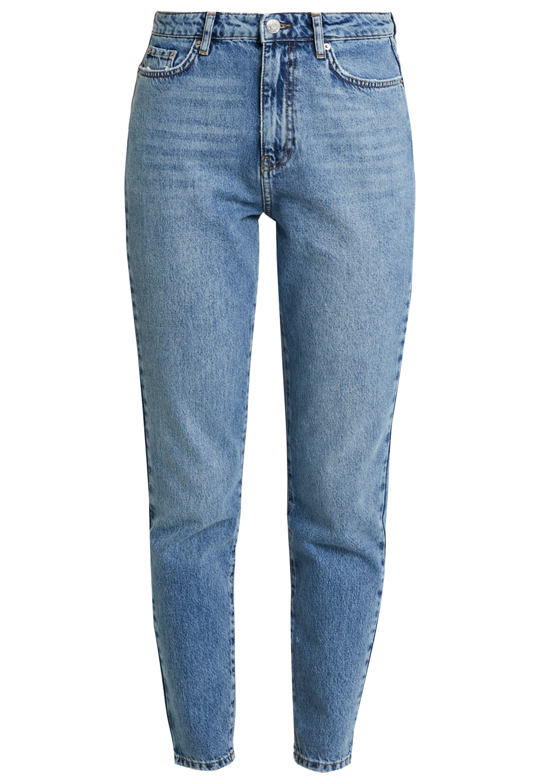 Gina Tricot DAGNY HIGHWAIST - Jeans Relaxed Fit - mid blue