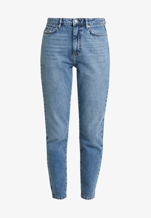 DAGNY HIGHWAIST - Jeans Tapered Fit - mid blue