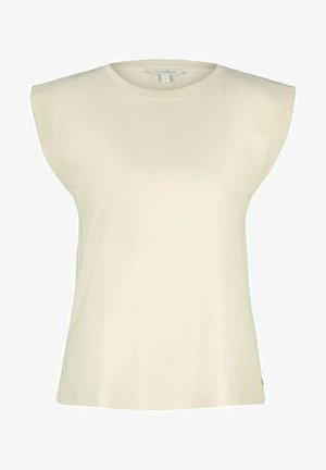 Basic T-shirt - soft creme beige