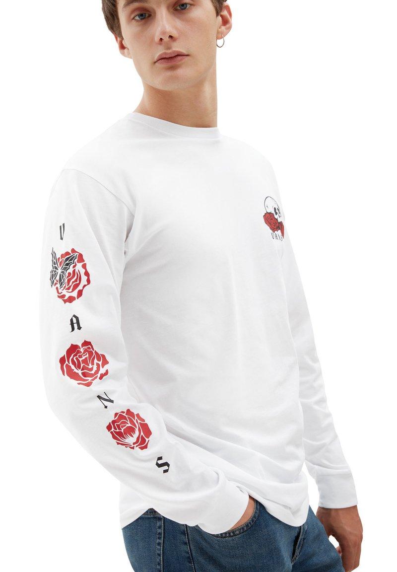 Vans - MN ROSE BED LS - Long sleeved top - white