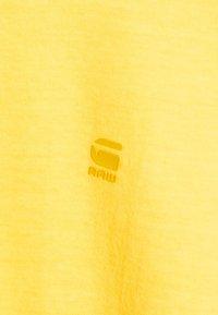 G-Star - LASH  - Basic T-shirt - yellow - 5
