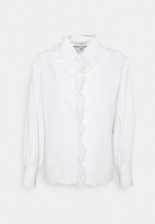 BOXY LACE  - Blouse - white
