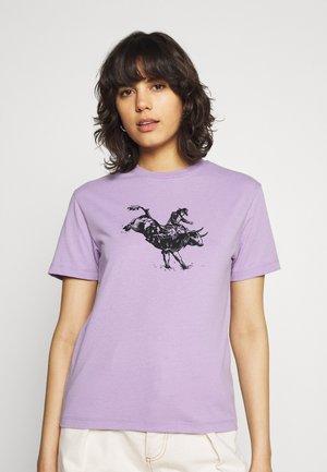RAVEN TEE - T-shirt imprimé - lilac