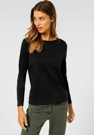 IM NEUEN STYLE - Long sleeved top - schwarz