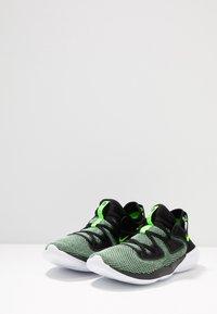 Nike Performance - FLEX 2019 RN - Minimalist running shoes - black/electric green/vapor green/white - 2