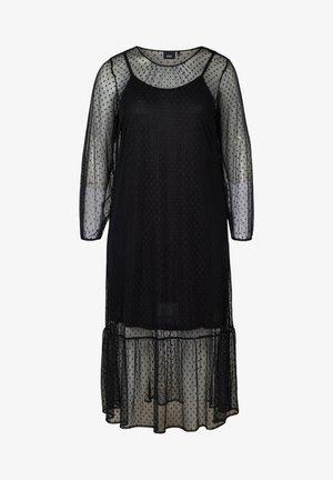 MIT PÜNKTCHEN - Maxi dress - black