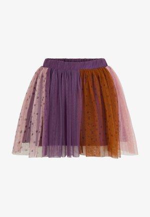 TULLE - A-line skirt - grape jam