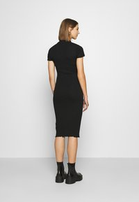 Even&Odd - Vestito di maglina - black - 2