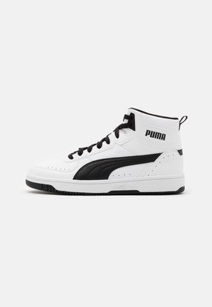 REBOUND JOY UNISEX - Sneakers high - white/black