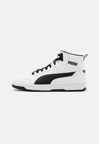 REBOUND JOY UNISEX - Höga sneakers - white/black