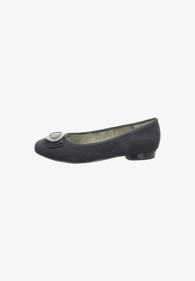 Ballet pumps - dunkel-blau