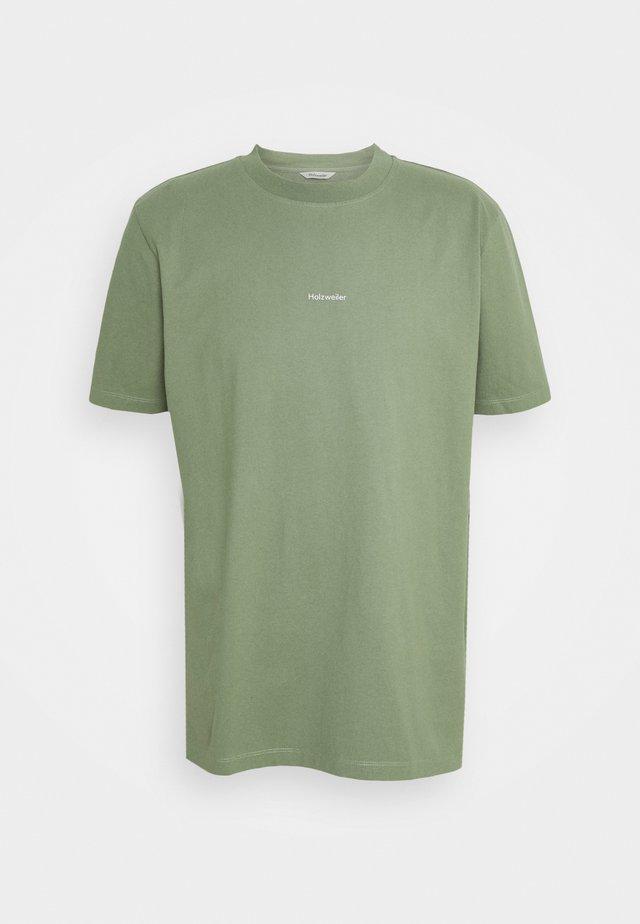 LIVE TEE - T-shirt print - green