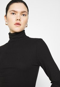 Monki - ELIN  - Long sleeved top - black - 3