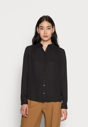 SLFSIGNA DYNELLA  NOOS - Button-down blouse - black
