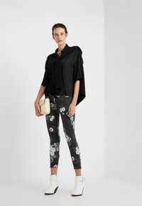 DRYKORN - THERRY - Button-down blouse - black - 1