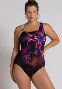 Ulla Popken - Swimsuit - black - 0
