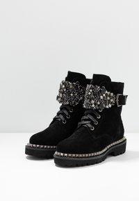 Alma en Pena - Lace-up ankle boots - black - 4