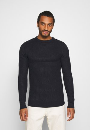 Strickpullover - mdnight navy