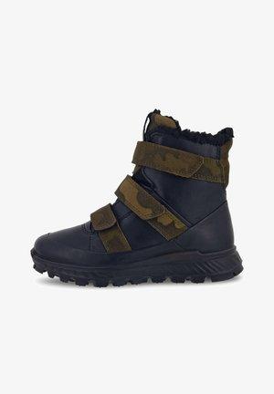 Boots - black/tarmac camo