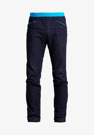 CAVE - Trousers - blue/turquoise