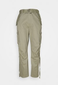 Replay - PANTS - Cargo trousers - moss green - 4